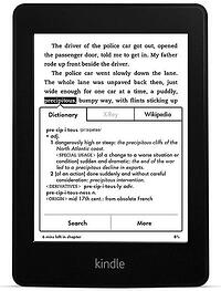 built in dictionary in amazon kindle