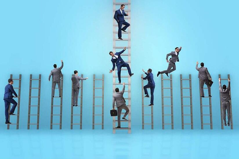 ladder to entrepreneurial and career success