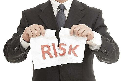 ignoring project risk - Project management risk