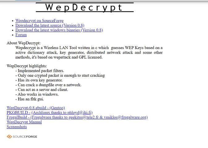 WepDecrypt - A great tool for beginners