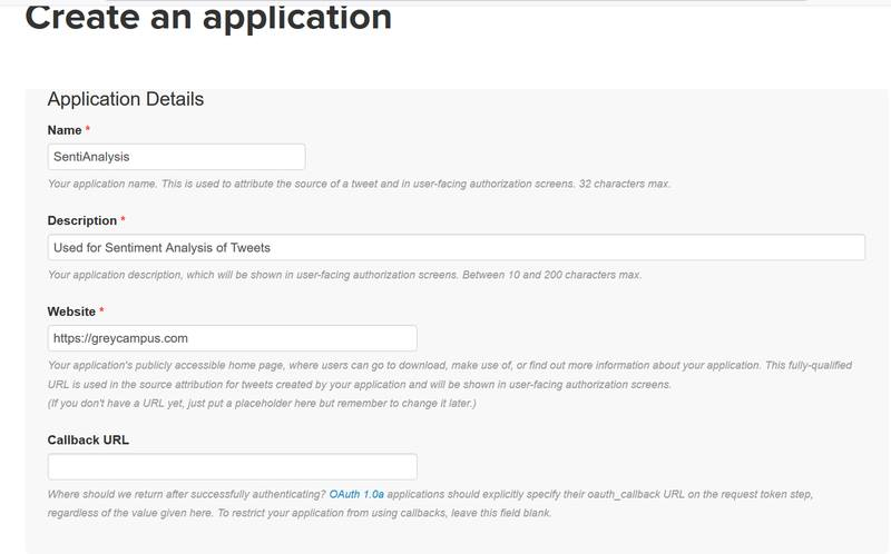 TwitterApps signup page